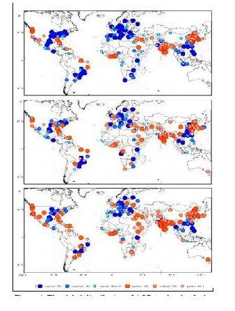 satellite aq megacities