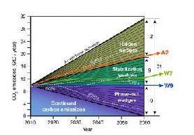 wedges zero emissions