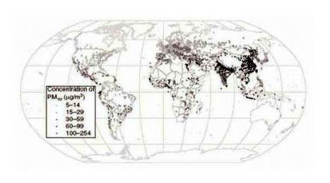 pollution cancer map