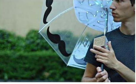 sensing umbrella