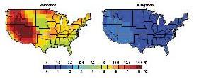 benefits heat waves USA